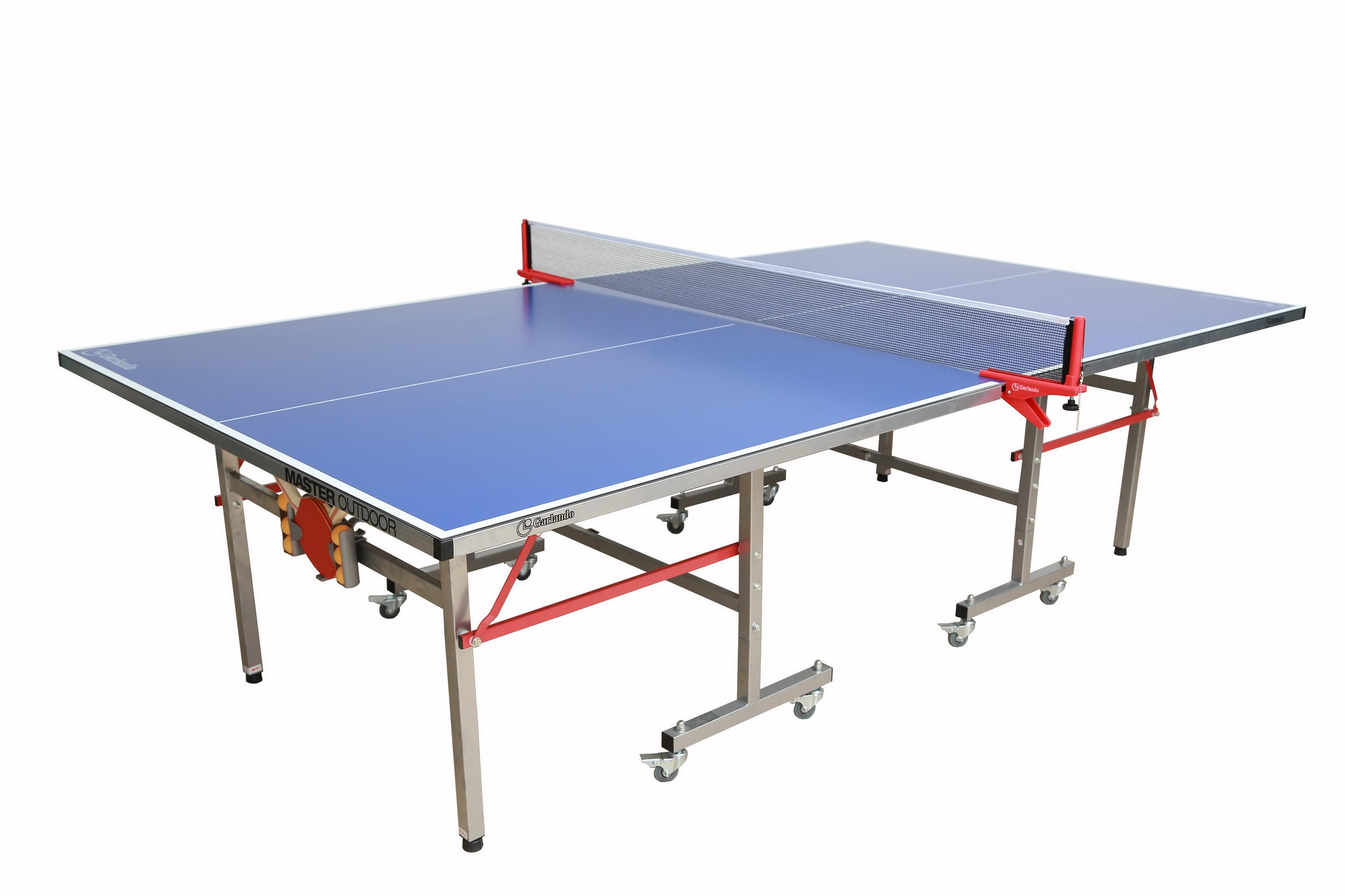 1ebab2eca5b Amazon.com   Garlando Master Indoor Outdoor Table Tennis Table