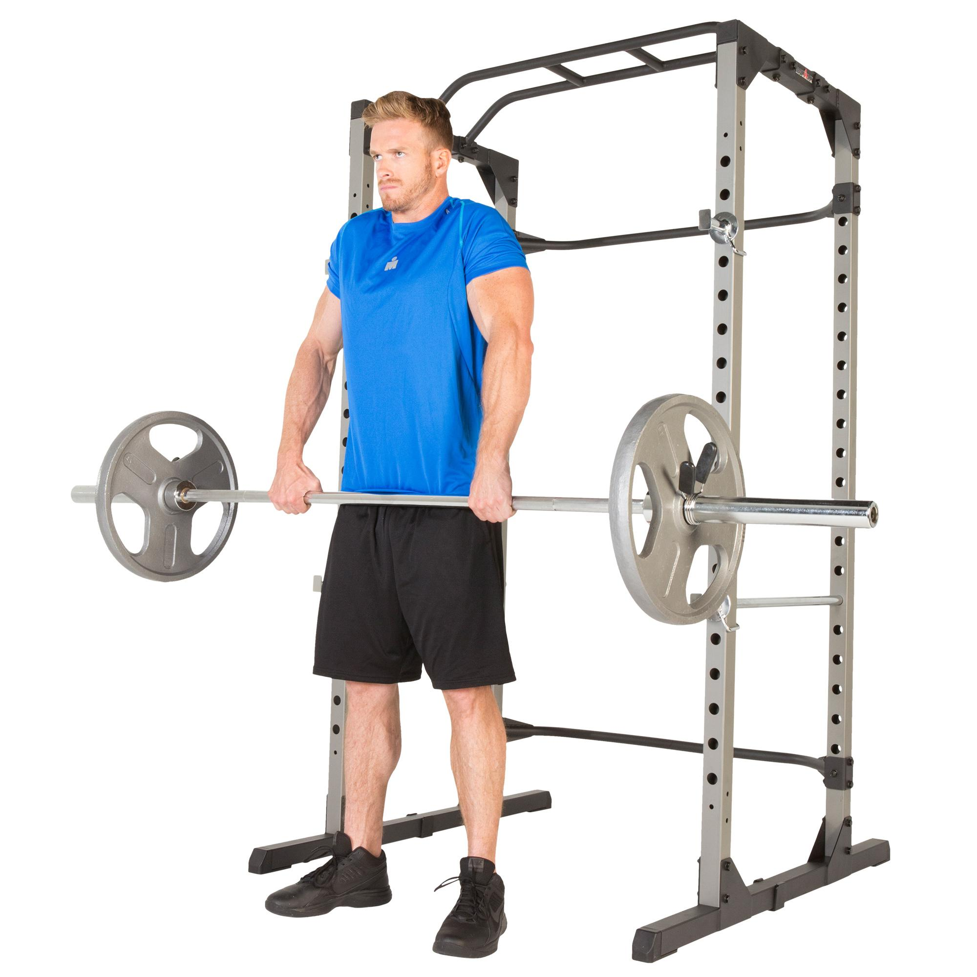 Weight Rack Walmart: Amazon.com : IRONMAN H-Class 810XLT Power Cage With 800Lbs