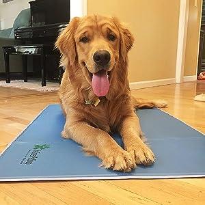 The Green Pet Shop Self Cooling Pet Pad,