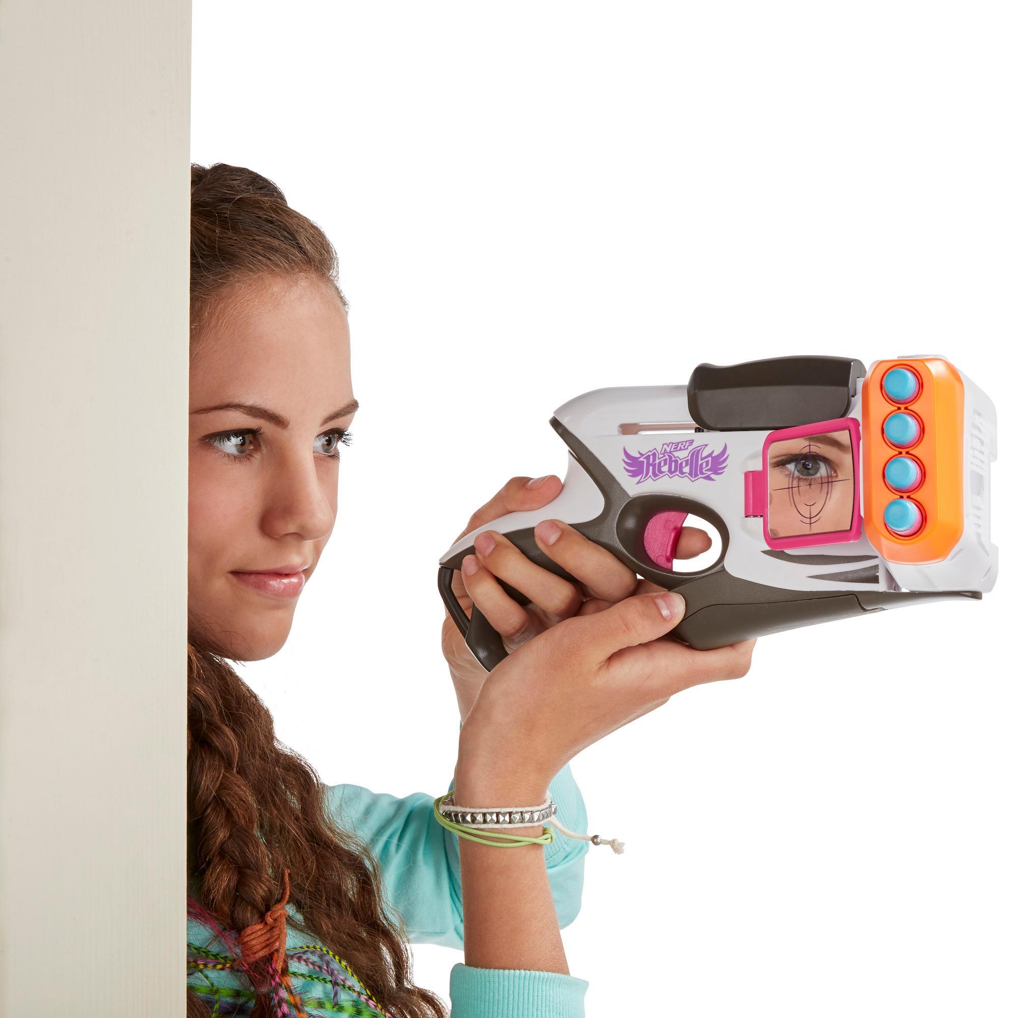 Amazon.com: Nerf Rebelle CornerSight Blaster: Toys & Games