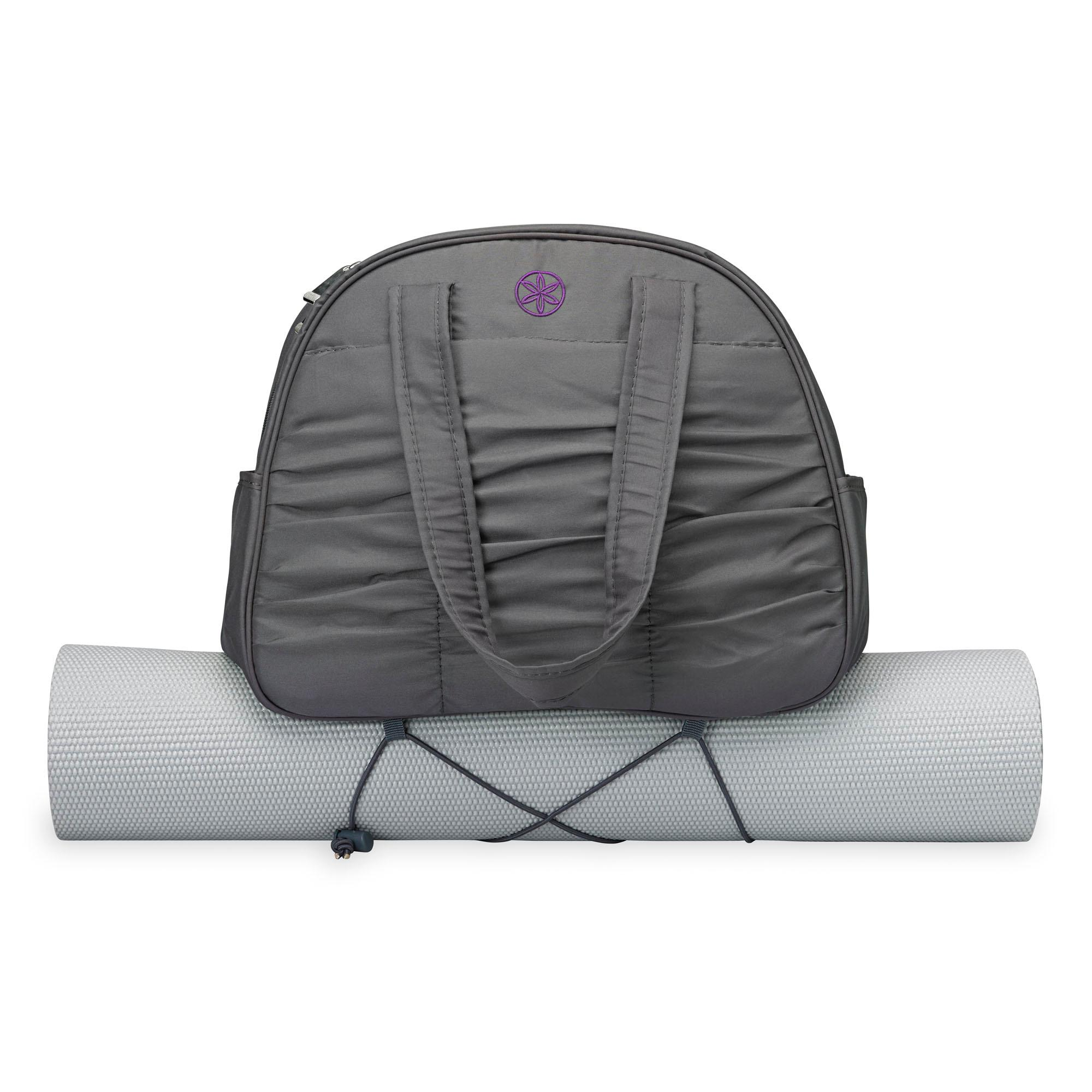 Amazon Gaiam Metro Gym Bag Charcoal Yoga Mat Bags