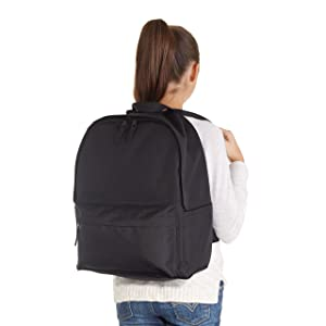 Amazon.com: AmazonBasics Classic Backpack - Black: Computers ...