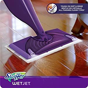 Amazon Com Swiffer Wetjet Spray Mop Cleaner Starter Kit