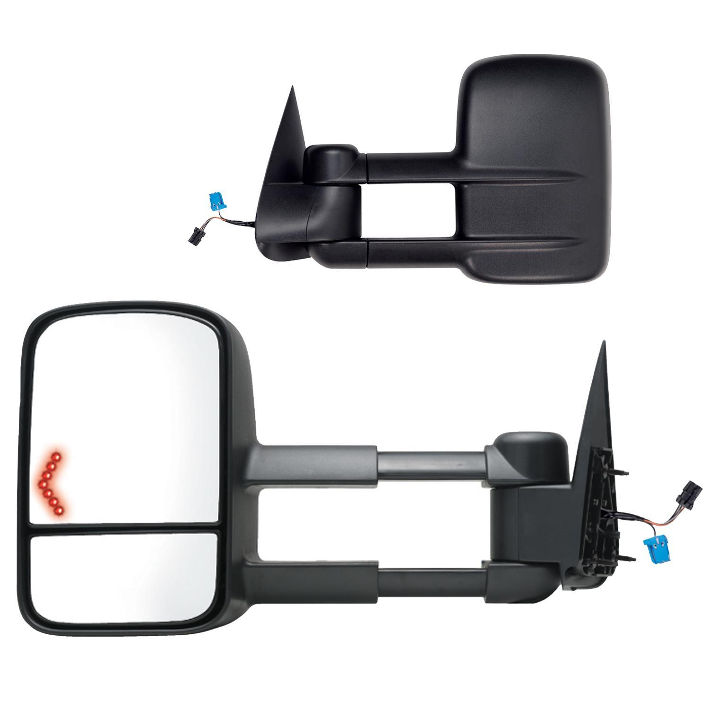 K-Source 62134G Left Driver Mirror w//Turn Signal for Silverado//Sierra 1500