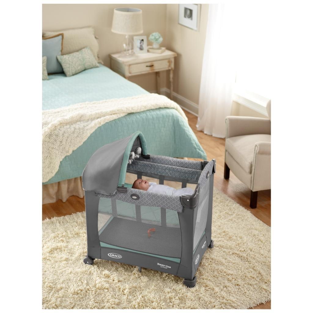 Amazon Com Graco Travel Lite Crib With Stages Manor Baby