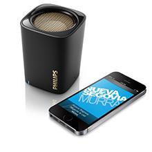 Philips BT100 Portable Wireless Bluetooth Speaker