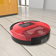 robot vacuum, robot, vacuum cleaner, vacuum, pet, pet hair, dog, cat, bobsweep, large bin, canister
