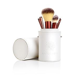 designer case makeup brushes