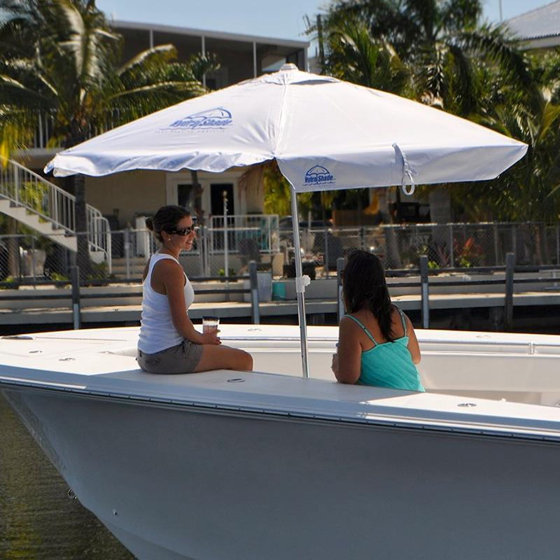 Hydra shade xl 100 boating umbrella with for Boat umbrellas fishing