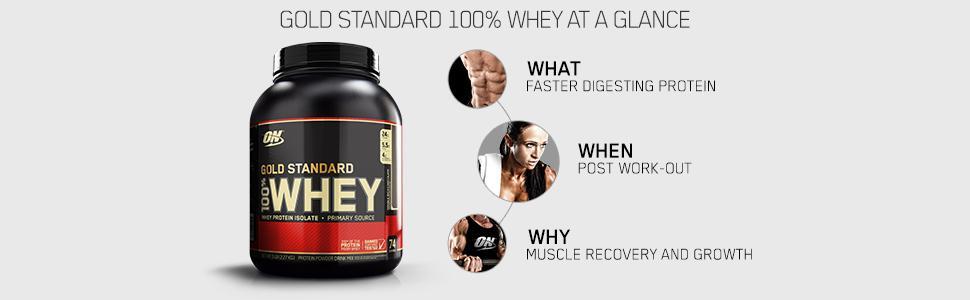 Amazon.com: Optimum Nutrition Gold Standard 100% Whey ...
