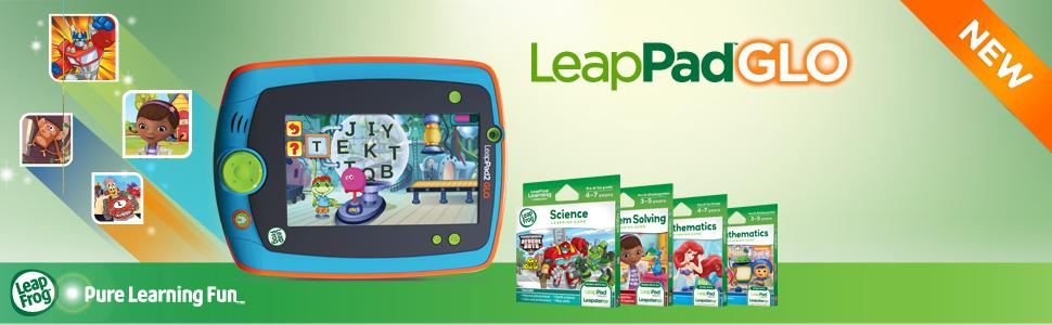 The picture of the LeapPad Glo.