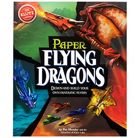 amazon com klutz paper flying dragons craft kit the editors of