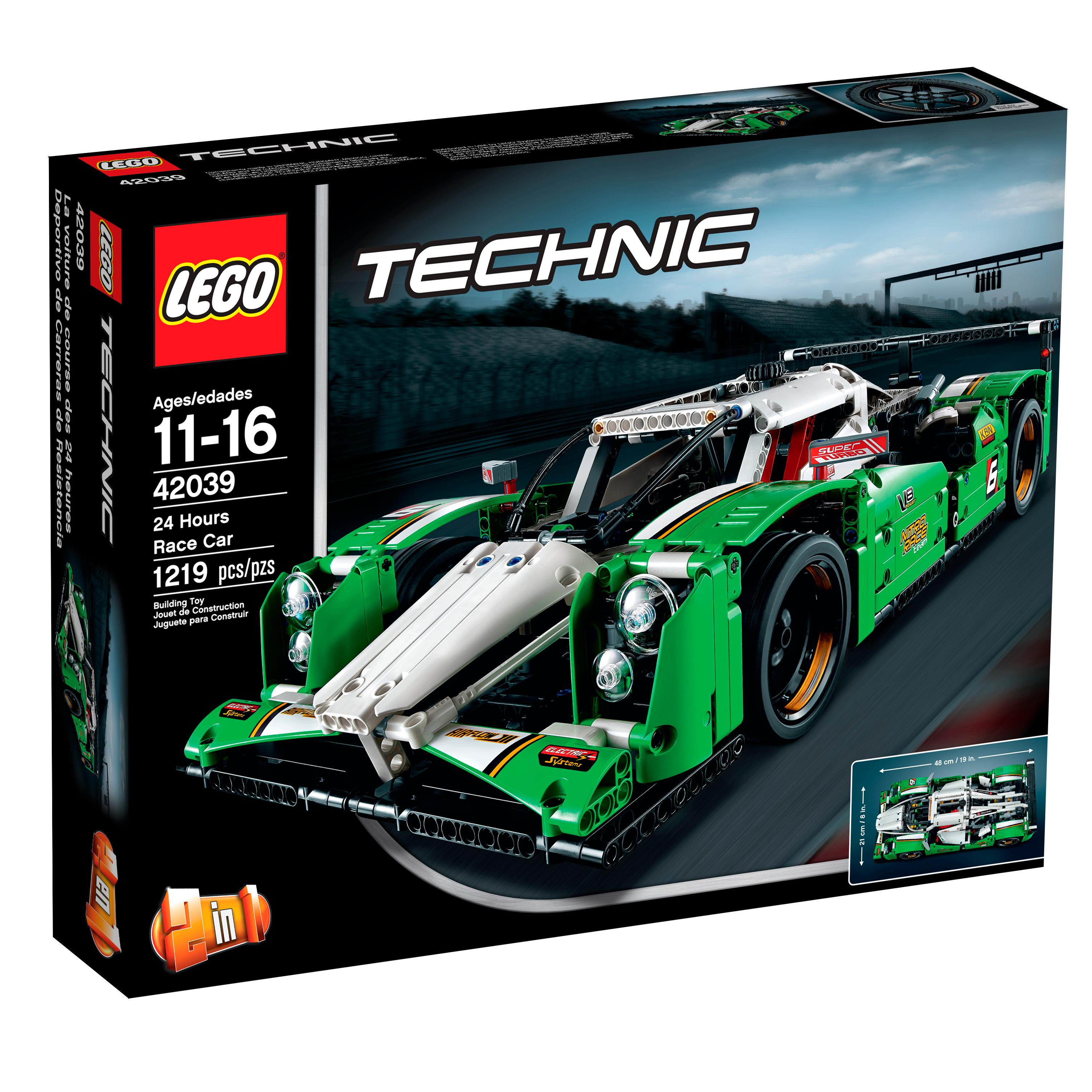 lego technic 24 hours race car toys games. Black Bedroom Furniture Sets. Home Design Ideas