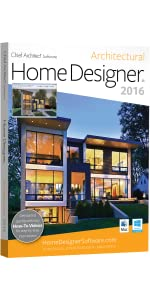 Amazoncom Home Designer Architectural 2016 PC Software
