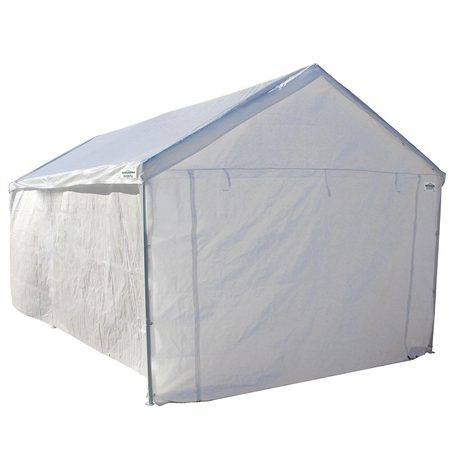 Portable Garage Side Wall Kit Tent Vehicle Car Canopy ...