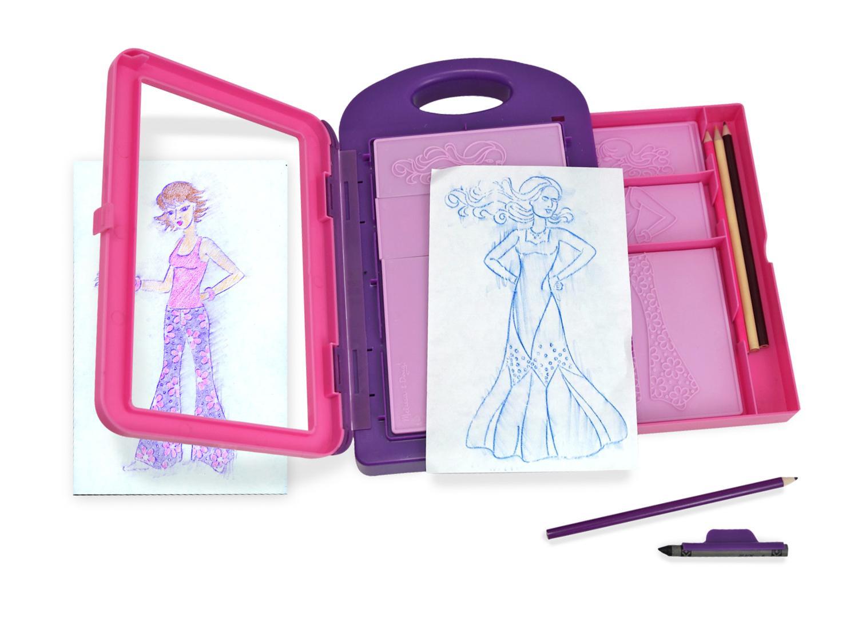 Melissa Doug Fashion Design Art Activity Kit