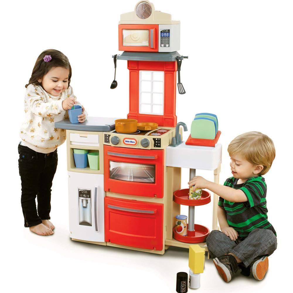 Amazon.com: Little Tikes Cook 'n Store Kitchen Playset