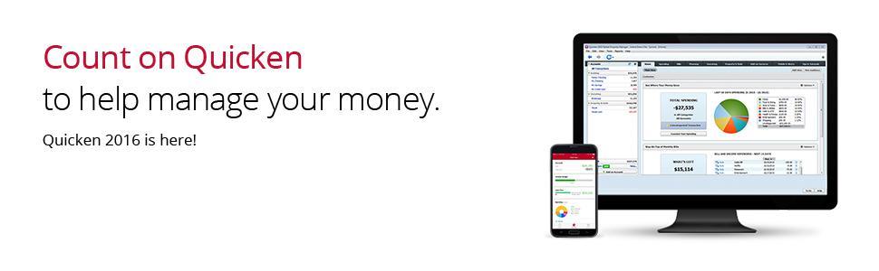 Amazon.com: Quicken Premier 2016 Personal Finance \u0026amp; Budgeting ...