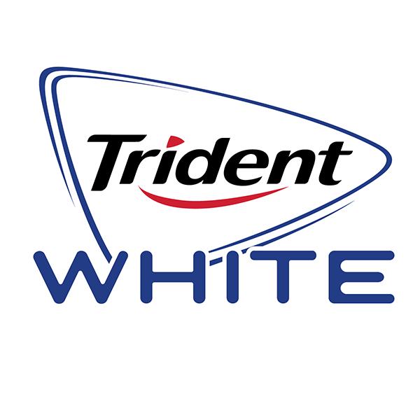 amazon com trident white sugar free gum in collectable c 3po rh amazon com trident gum logo font Stride Gum Logo