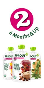 Sprout Organic Stage 2 Pouches