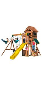 Amazon Com Swing N Slide Chesapeake Wood Complete Play