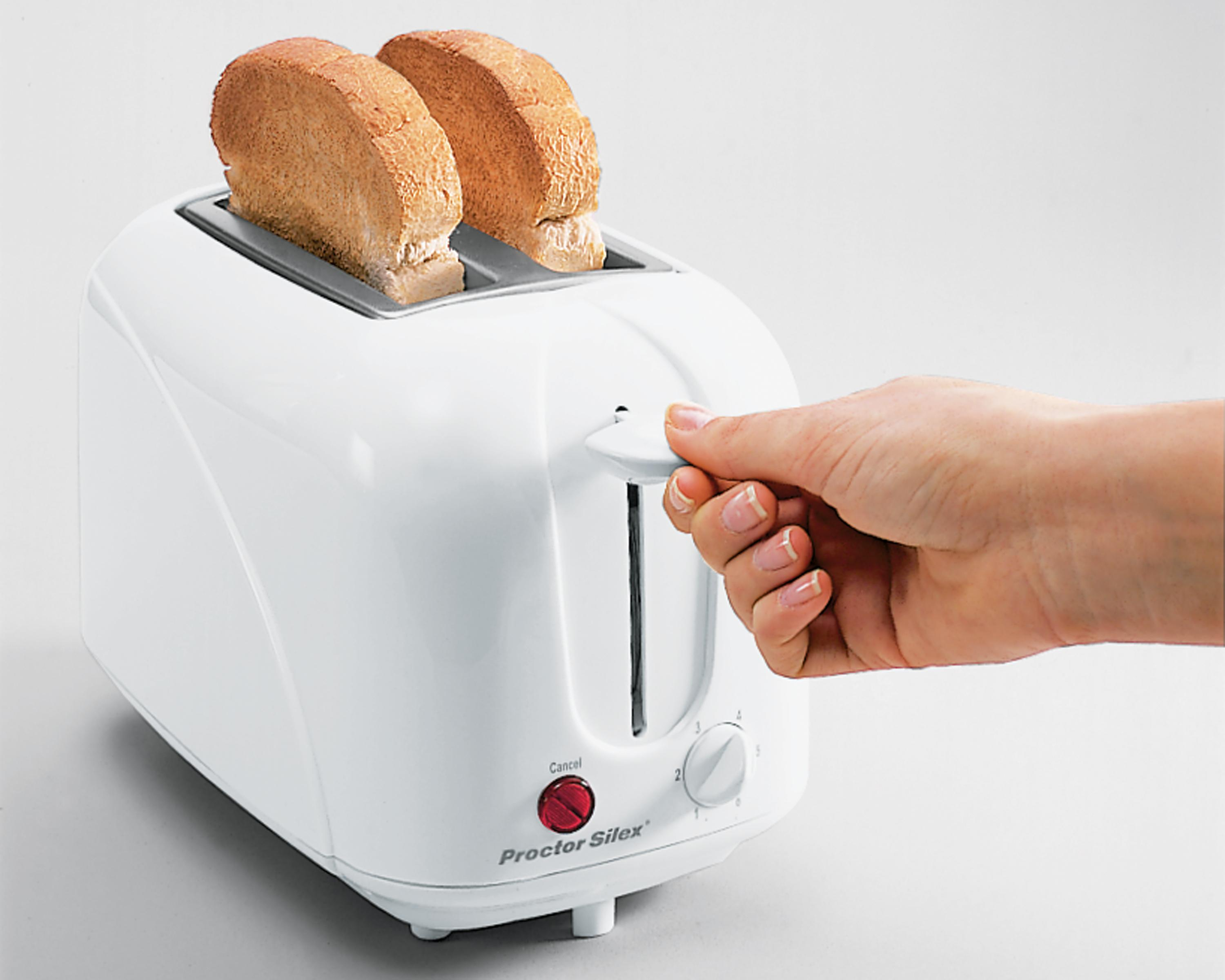 Toast In Toaster ~ Amazon proctor silex cool touch toaster kitchen dining