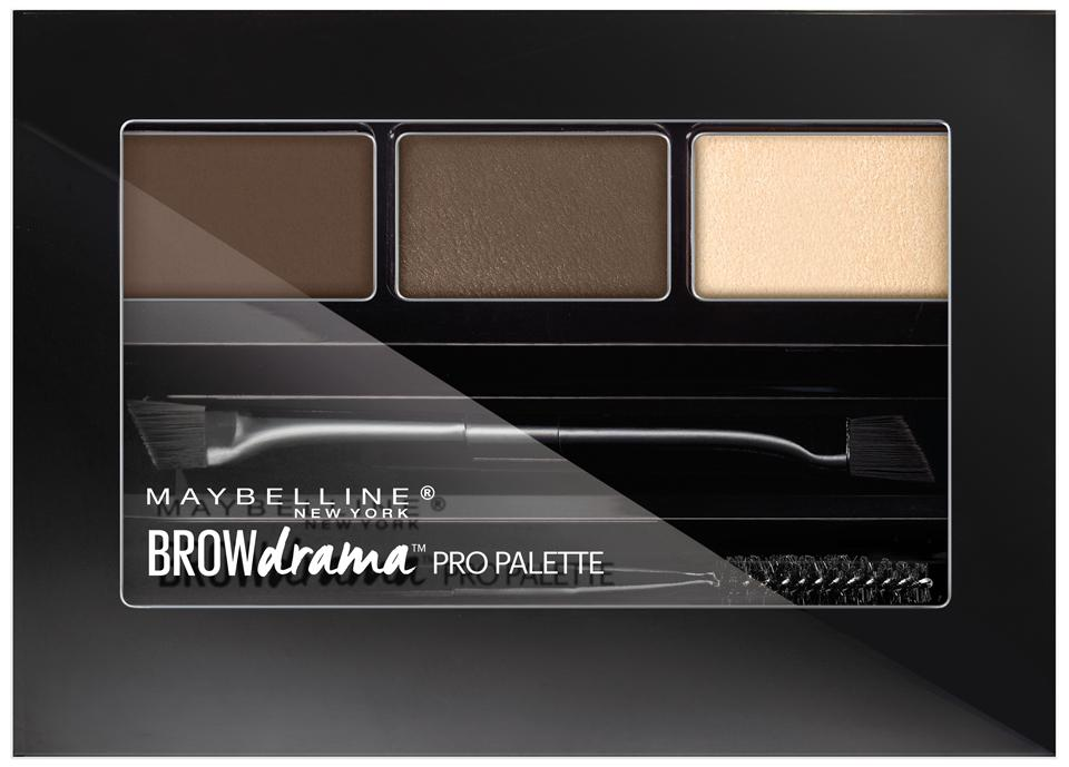 Amazon.com : Maybelline Brow Drama Pro Eyebrow Palette, Soft Brown, 0