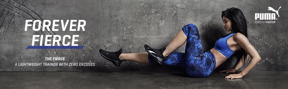 Amazon.com   PUMA Women's Fierce Core Cross-Trainer Shoe