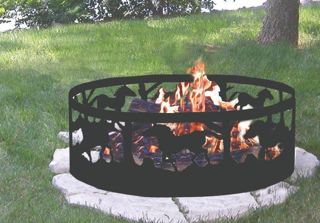 Perfect CobraCo, Campfire, Ring, Portable, Contains Fires, Artistic, Steel Metal,