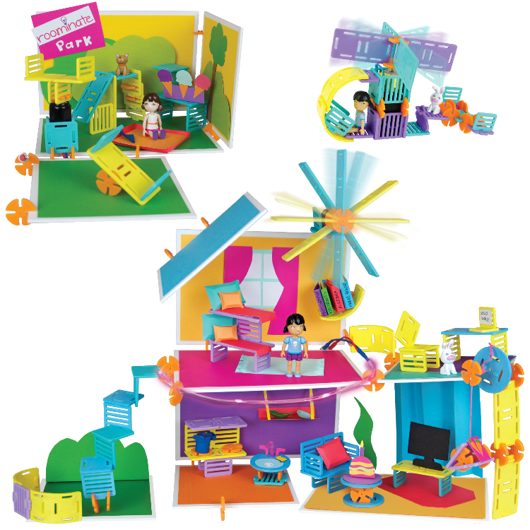 Construction Toys For Girls : Amazon roominate chateau toys games