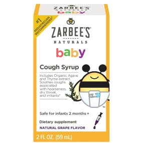 Amazon Com Zarbee S Naturals Baby Cough Syrup Natural