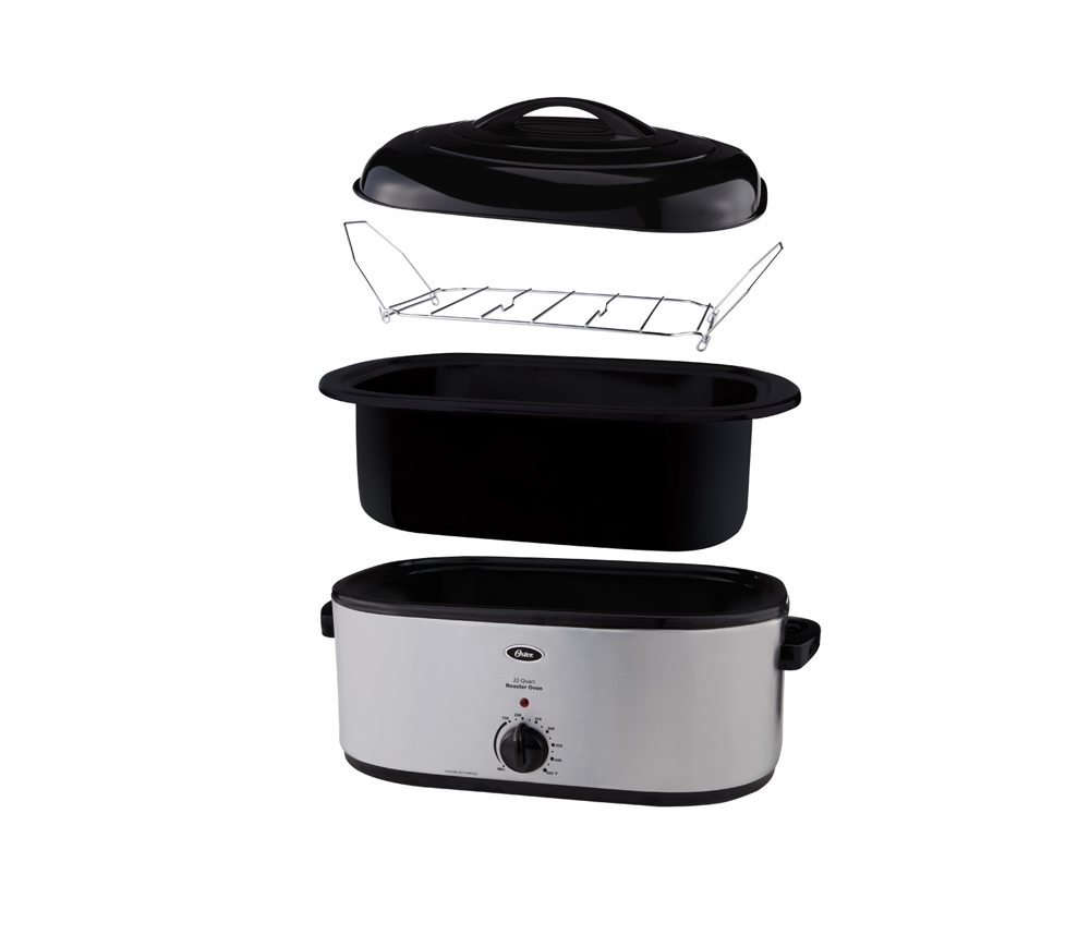 Oster 22 Lb Turkey Roaster W Self Basting Lid On Oster Com: Amazon.com: Oster Roaster Oven With Self-Basting Lid, 22
