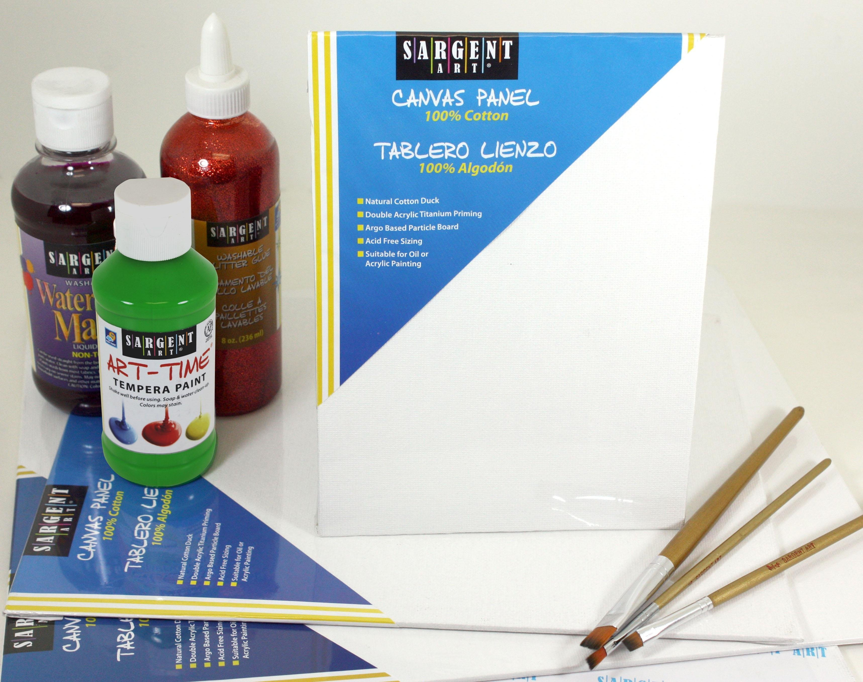 Amazon.com: Sargent Art 90-3017 22x30-Inch Canvas Panel, 100% Cotton