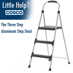 three step  sc 1 st  Amazon.com & Amazon.com: Cosco Signature 3-Step Stool: Home Improvement islam-shia.org