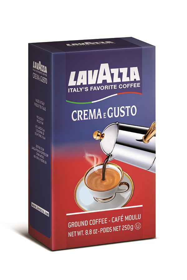 Amazon.com : Lavazza Crema e Gusto - Ground Coffee, 8.8-Ounce Bricks