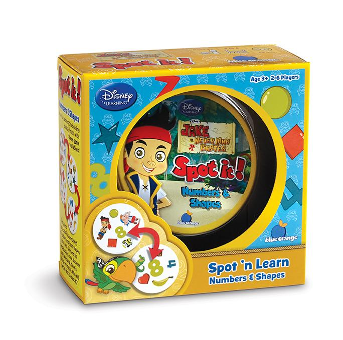 Amazon.com: Spot it! Jake and the Never Land Pirates- Numbers ...