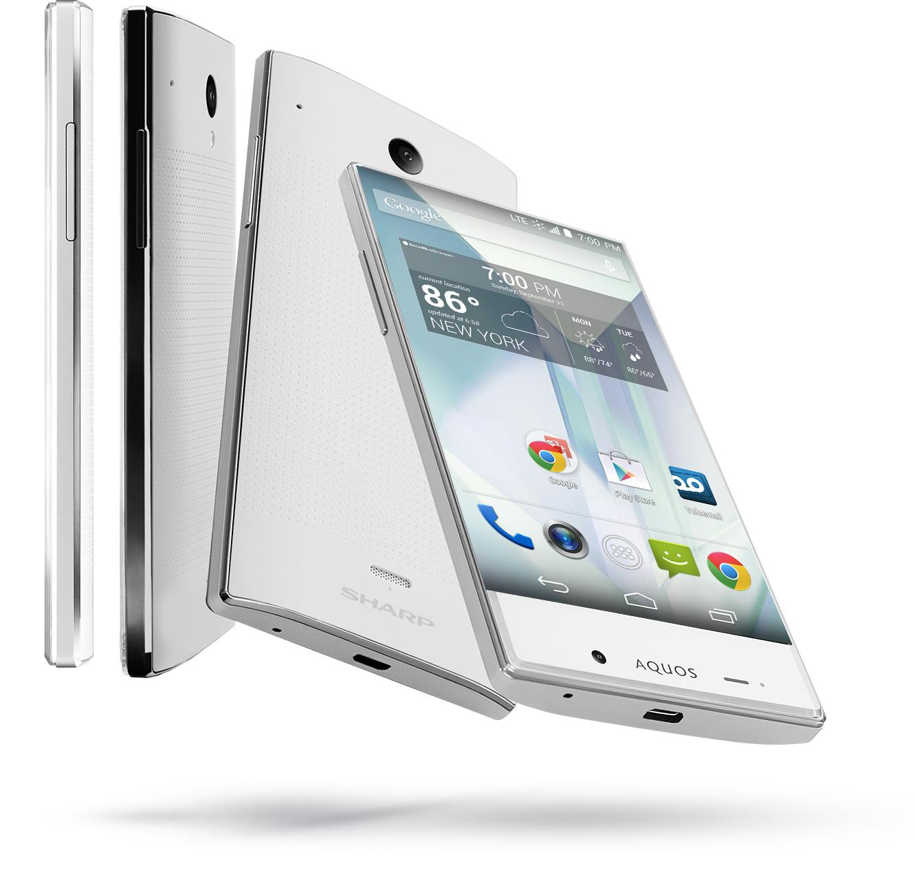 Amazon com: Sharp Aquos Crystal Silver (Boost Mobile): Cell