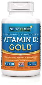 Vitamin D3 (5,000 IU)