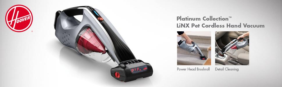 Hoover Platinum Collection LiNX Cordless Pet Handheld