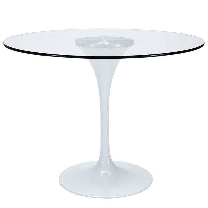 Amazoncom LexMod Lippa 40quot Glass Top Dining Table in  : 5efd0975 c4b7 4a1c ba16 b92dea010ff5jpgCB306983292 from www.amazon.com size 730 x 730 jpeg 12kB