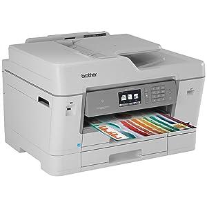Amazon Com Brother Printer Mfcj6935dw Wireless Color
