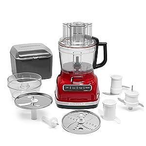 Amazon Com Kitchenaid Kfp1133er 11 Cup Food Processor