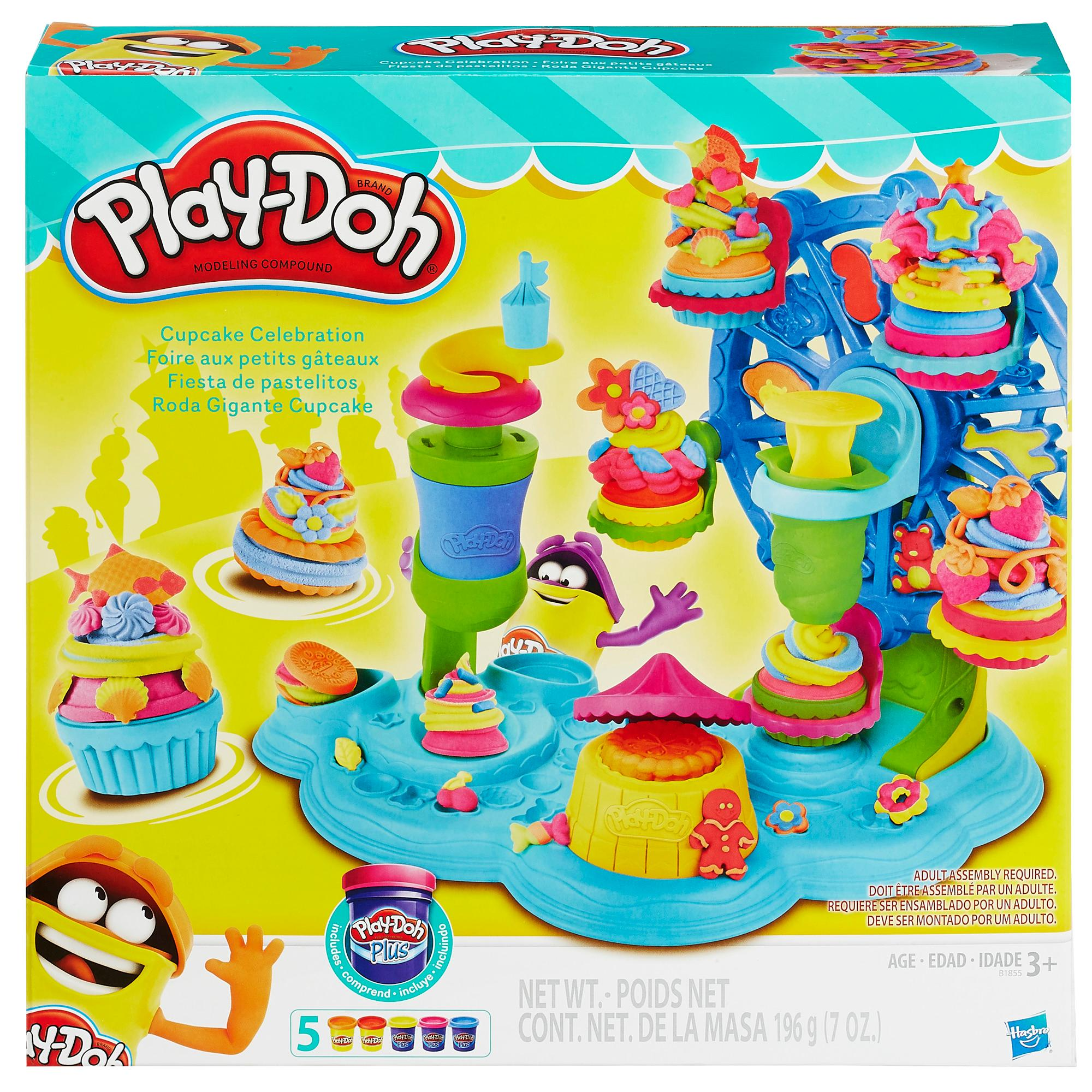Amazon.com: Play-Doh Cupcake Celebration Playset: Toys & Games