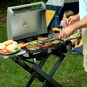 Gentil More Features Than Many Large Grills. The Cuisinart All Foods Roll Away Gas  ...