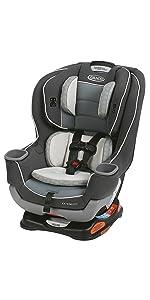 graco extend2fit convertible car seat davis baby. Black Bedroom Furniture Sets. Home Design Ideas