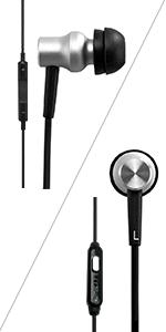 RE400i/400a black earphone