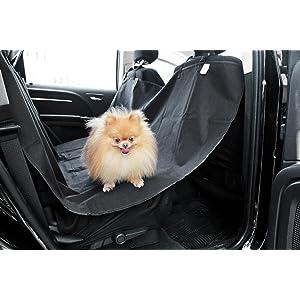 Amazon OxGord Pet Dog Car Seat Cover For Rear Bench