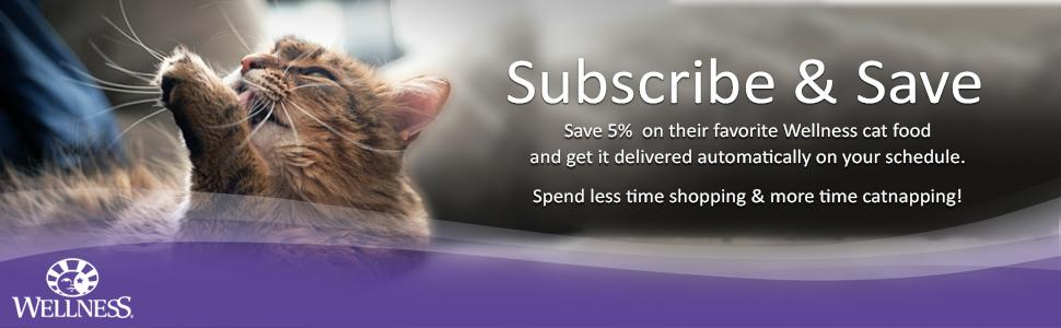wellness,pet food,cat food,kitten food,subscribe and save,subscribe & save
