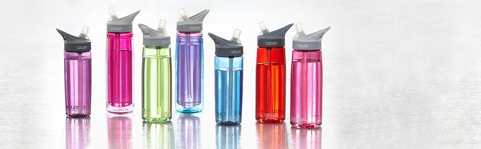 Amazon.com : Camelbak Eddy Bottle (0.75-Liter/24-Ounce, Clear ...