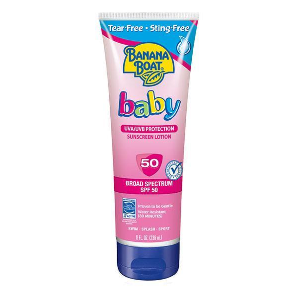 Amazon Com Banana Boat Baby Sunscreen Tear Free Sting